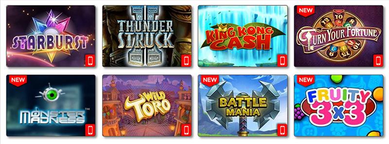 ACE Lucky Casino Website